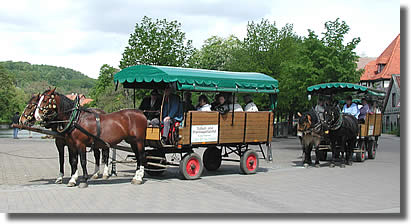 Planwagen in Ilsenburg
